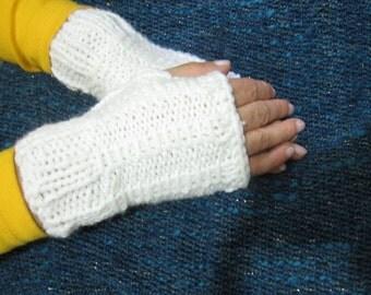 Soft White Gloves