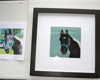 Pet Portraits Made to Order,  Hand Embroidered