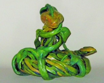 Viper Mascot Statue ... Snake In The Grass Series #1