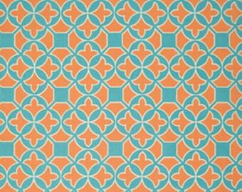 Flora - Trellis in Carrot - Joel Dewberry - Half Yard Cotton Fabric
