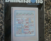 Country Alphabet Cross Stitch Kit from Nancy Rossi (DImensions)- Vintage