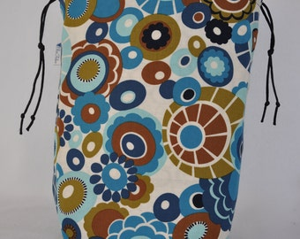 Project Bag Funky Floral