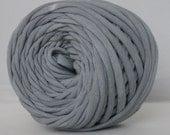T-Shirt Yarn Hand Dyed Gray 30 Yards