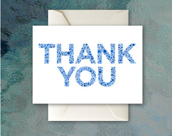 Thank You (Dots) - Blank Card