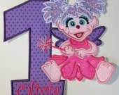 Birthday Set Character or Separate Character   - Iron On or sew On Embroidered Applique