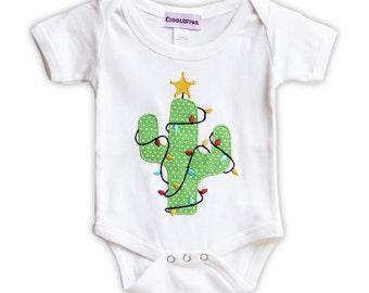 Holiday Cactus Infant Bodysuit