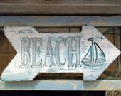 Beach House, Cottage sign, Beach House sign, Lake House sign, Personalized & Custom sign, Distressed sign.