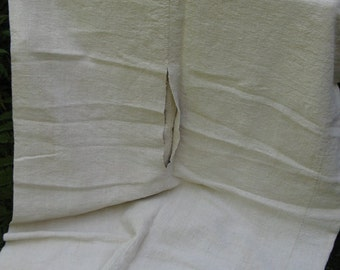 antique duvet coverlet BEDSPREAD handloomed plain COMFORTER LAUNDERED classy
