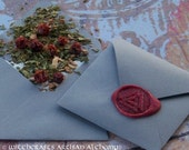MIND MASTERY Odin's Valknut Spirit of Magic™ Herb Loaded Envelope Spell by Witchcrafts Artisan Alchemy® - Rune Sorcery, Warrior Arts
