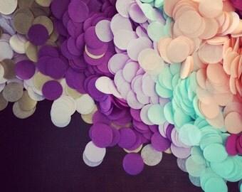 TISSUE PAPER CONFETTI / table decoration / wedding decorations / balloon confetti / confetti toss / round confetti / table decoration