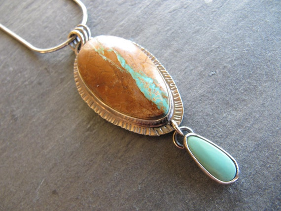 necklace of royston ribbon turquoise and pilot by