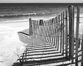 Dune Shadows black and white - 8x10 Fine Art Photography Print
