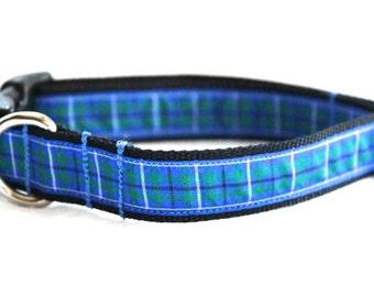 SALE! Douglas Tartan Small/Medium Dog Collar