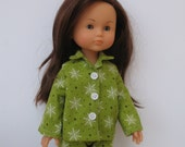Custom Order for Lyndsey,Corolle Les Cheries,Paola Reina  Doll Christmas Pajamas,Jacket with Hood