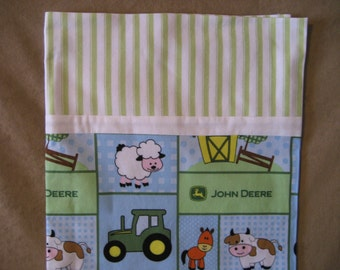 SALE!!!!!!!!   Baby John Deere Print Standard Pillowcase
