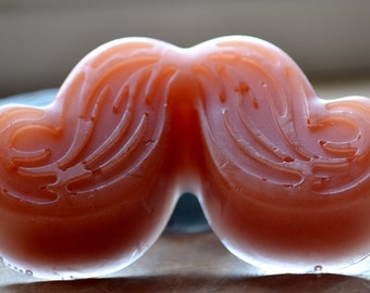 Soap for Him - Mustache Soap - Holiday Gift - Soap for Him