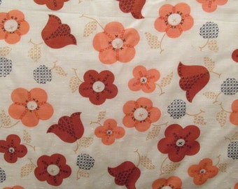 Vintage Fabric 1 yard x 44 inches more available