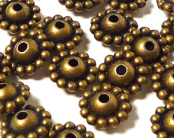 Bronze spacer bead, Jewelry Supply, bracelet supply, bead supply, necklace bead, jewelry making, spacer bead, pewter bead spacer