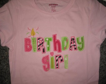Happy Birthday Girl Shirt Boutique Custom Personalized