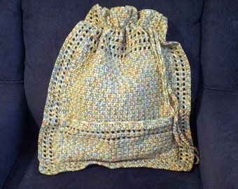Super Size Tote Bag Instant Download PDF Pattern Crochet Easy Knitting Worsed Pag Purse DIY 15x19 Inches Pocket