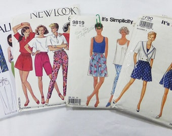 sewing patterns McCalls new loo Simplicity Women's Lot of 4 Vtg 70s 80s AS IS
