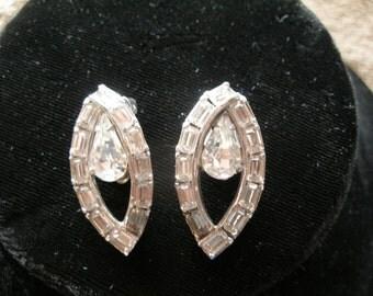 Eisenberg, high fashion earrings, ca1950s