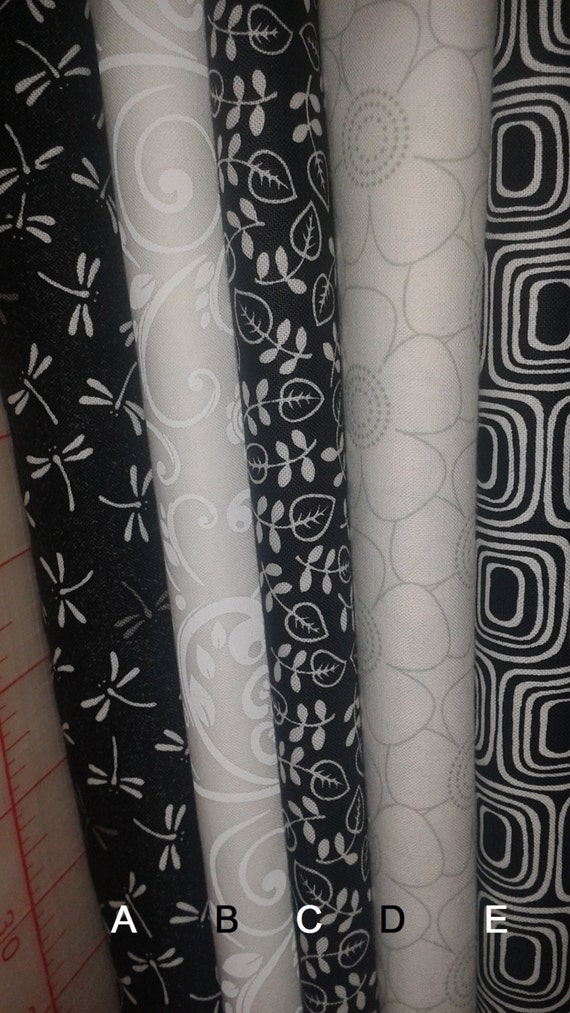 Black And White Fat Quarters 27