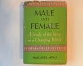 Margaret Mead Male and Female first edition  1949