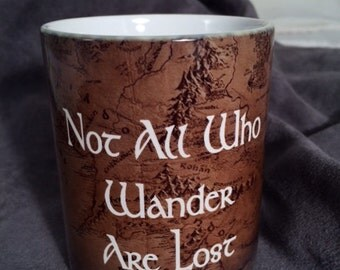 Middle Earth Color Changing Mug