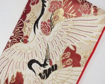 Obi iPad mini Case Made From Vintage Maru Obi - Crane & Castle