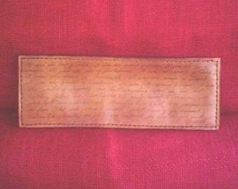"""Handcrafted Leather Wallet """"TALE of TWO CITIES"""""""