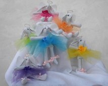 Angel Bunny Christmas Fairy Guardian, Ornament, Decoration, 8 inches tall with loop for hanging