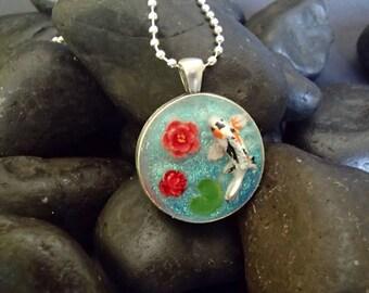 Koi Pond Necklace #1