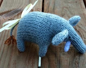 Handmade Knitted Elephant