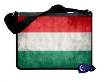 Flag of Hungary -  Messenger and Laptop Computer Bag