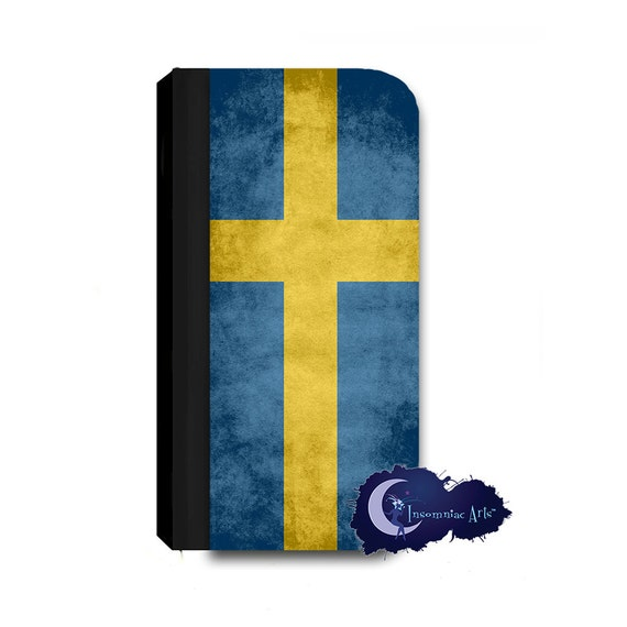 Swedish Flag Wallet Case for iPhone