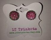 Lilly Pulitzer Cabanarama pattern stud earrings