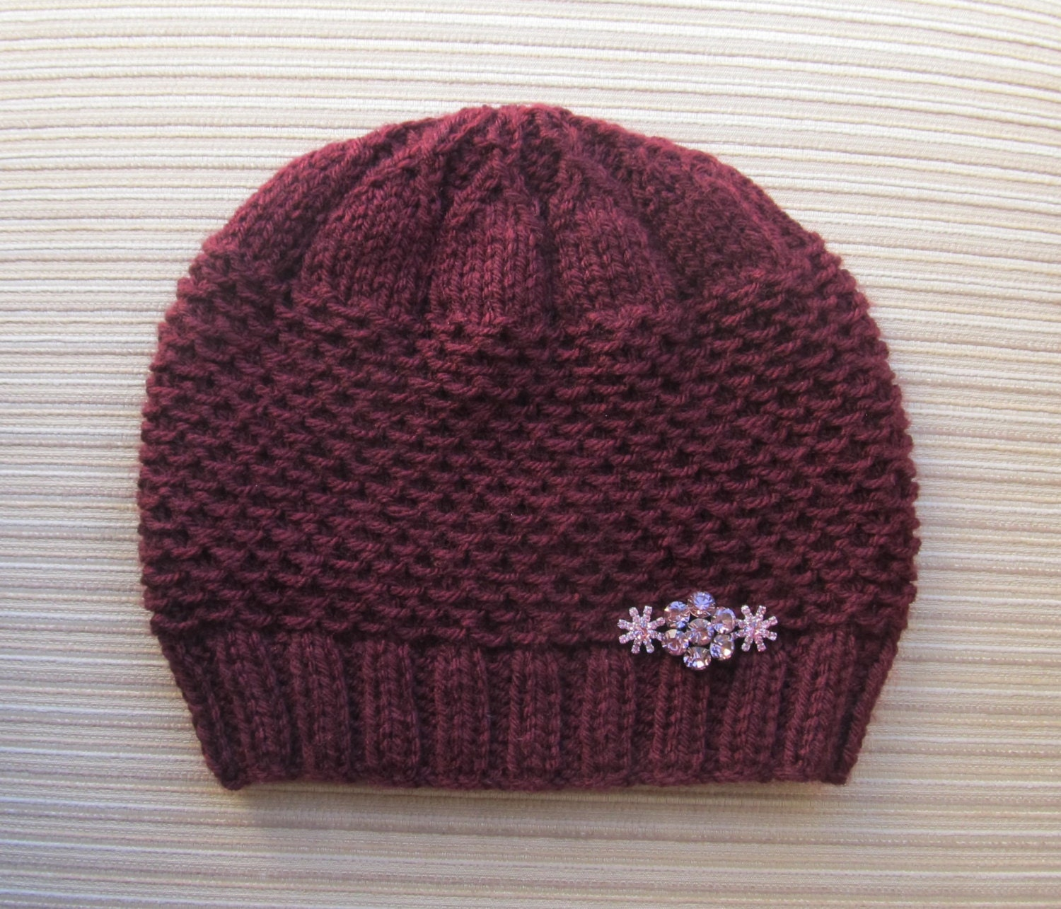 Adult Hat Knitting Pattern 69