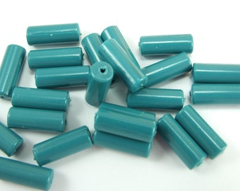 20 pcs Vintage German Beads , Plastic Beads , Findings , 12x2 mm , Lucite Beads