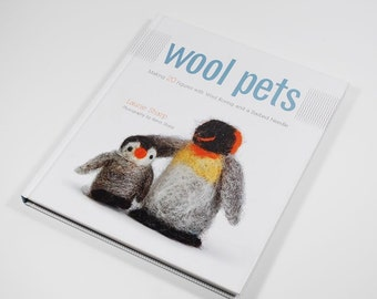 Wool Pets - Making 20 Frigures with Wool Roving and a Barbed Needle