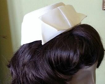Madmen bridal hat headpiece