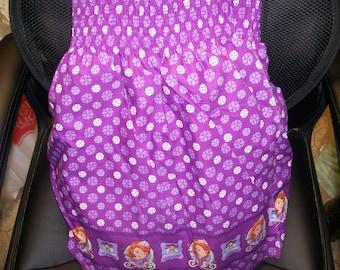 Smocking Fashion Disney Fairy Princess in Training Dress Mock Smocking Cotton Fabric Sold by the Half Yard