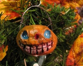 Pumpkin Trick or Treat Ornament