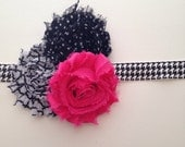 Make your own Three flower build your own headband!