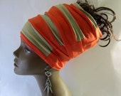 Strips Color Blocked Locs - Hair Hugger - Dread Locs Socks- Boho Headband- Hair Accessories- SKU: WWJ282