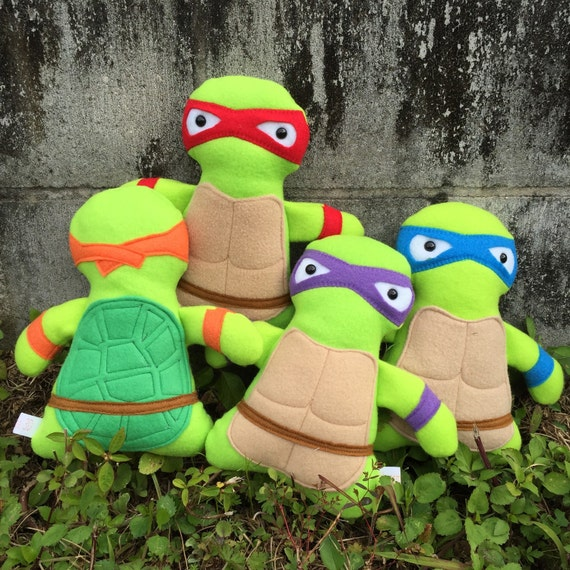 Teenage Mutant Ninja Turtle Stuffed Toys