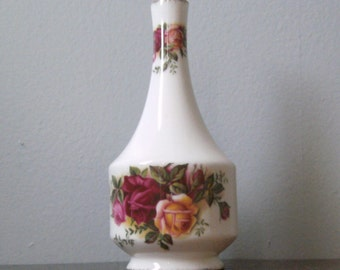 Old Country Roses Petite Vase Vintage
