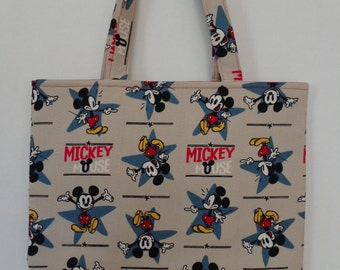 50% OFF SALE - Mickey Mouse Tote Bag/Book Bag/Preschool Tote