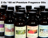 Fragrance Oils – Candle Fragrance Oil – Soap Fragrance Oil – 2 Oz Fragrance Oil– Reed Diffuser Oil, Lavender, Vanilla, Coconut, Musk, Citrus
