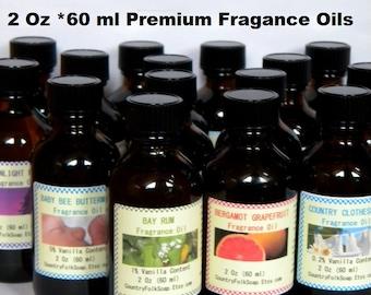 Fragrance Oils – Candle Fragrance Oil – Soap Fragrance Oil – 2 Oz Fragrance Oil– Reed Diffuser Oil, Lavender, Vanilla, Coconut, Musk, Citrus